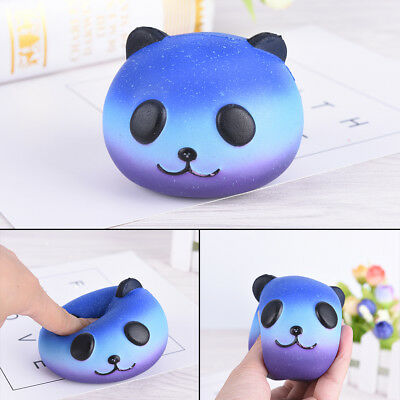 10cm Panda Cream Scented Squishy Slow Rising Squeeze Kid Toy Phone Charm Gift RS