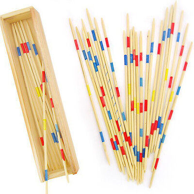 Holz Pick Up Sticks Holz Retro Traditionelles Spiel Pickup Stick Spielzeug H W0 ()