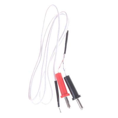 K Type Thermocouple Sensor Multimeter Temperature Probe Banana Plug 100 Fh