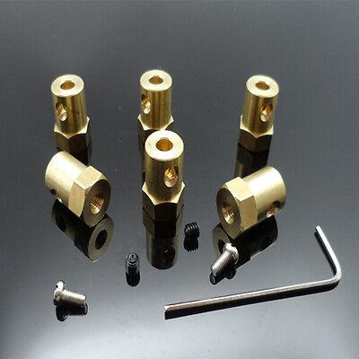 3mm4mm5mm6mm7mm8mm Flexible Motor Shaft Coupler Coupling For Diy Part Gx