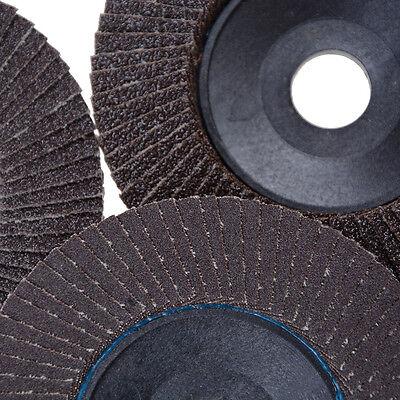 New 100mm Flap Sanding Discs 60-320 Grit Grinding Wheels Blades Angle Grinder Hi