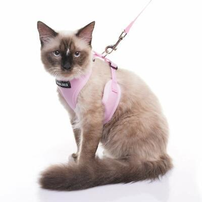 HARNESSES ESCAPE PROOF PET LEASH BEST SAFETY MESH ADJUSTABLE CATS VEST SMALL