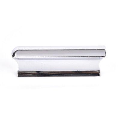 Metal Silver Guitar Slide Steel Stainless Tone Bar Hawaiian Slider For Guitar H2