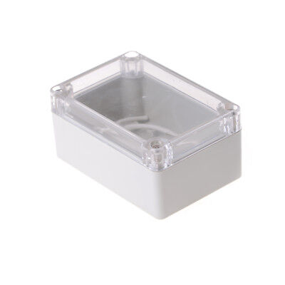 100x68x50mm Waterproof Cover Clear Electronic Project Box Enclosure Case Wtus