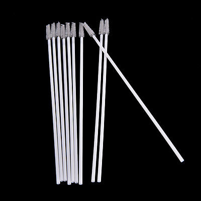 New 10pcs Stainless Steel Straw Reusable Washable Cleaner Cleaning Brush SP