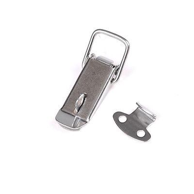 J106 Cabinet Box Spring Loaded Latch Toggle Locks Hasp For Sliding Door Window v