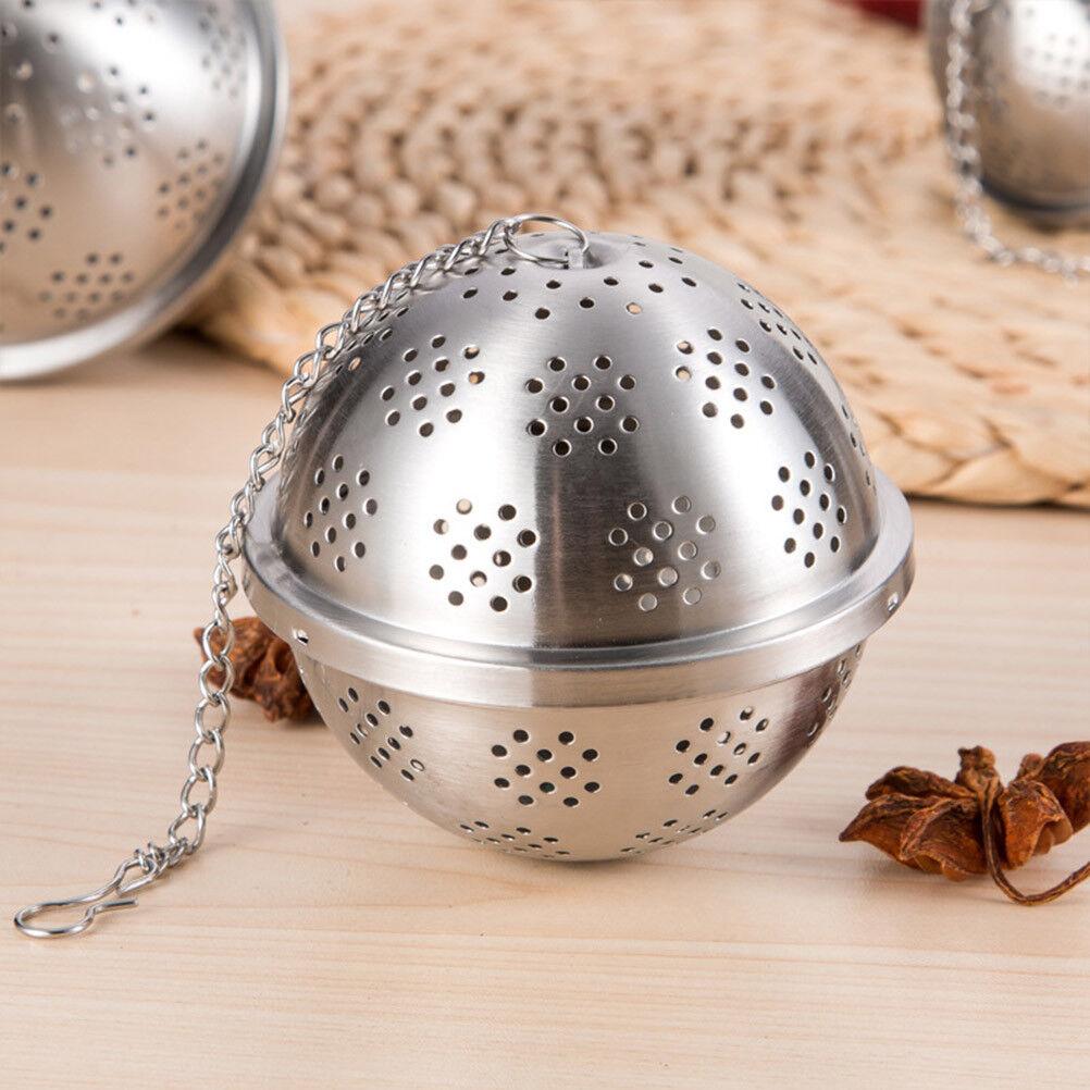 Stainless Steel Tea Infuser Loose Herb Infuser Kettles Infuser Tea Spice Locking