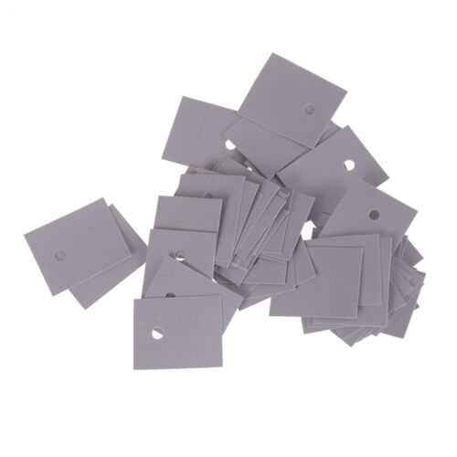 50pcs TO-247 Transistor Silicone Insulator Insulation Sheet 20*2 Bs