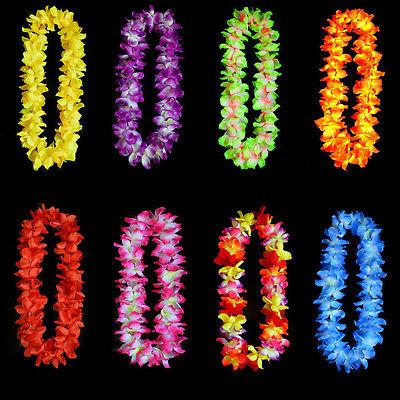 ach Thema Luau Party Blume Leis Halskette Girlande 8ColorsTC (Leis-halskette)