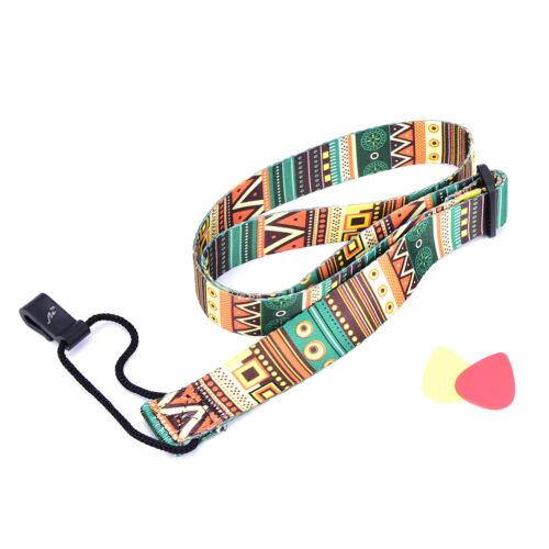 Adjustable Nylon Printing Style Ukulele Strap Ukulele guitar Accessories Fast
