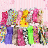 10 pcs  Beautiful Handmade Party Clothes Fashion Dress for Barbie Doll FashionSY