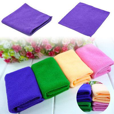 1pc soft fiber pet wash cloth ultra absorbent bath towel for dog cat 30*30cm new