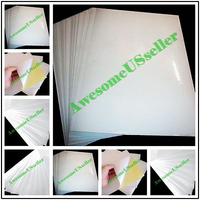 A4 White Self-adhesive Sticker Sticky New Tags Label Printing Paper Glossy Laser