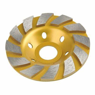 5 Diamond Double Fan Turbo Grinding Cup Wheel Concrete 78-58 Arbor