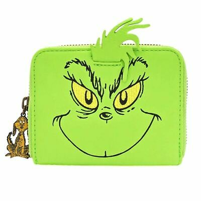 Loungefly X Dr. Seuss el Grinch Cosplay Zip-Around Cartera