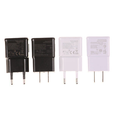 Ac Wall (AC Wall Charger Adapter Double USB 1/2 Port 5V 2A For Phone Android US/EU HU)