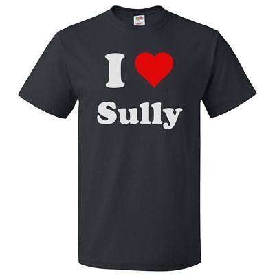 I Love Sully T shirt I Heart Sully Tee - Sully Shirt
