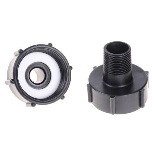 IBC Tote Tank Drain Adapter Coarse Thread 2 To 1/2 3/4 Garden HosFHFSPLUS - $6.34