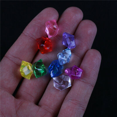 Acrylic Crystal Gem Stone Ice Rocks Table Scatter Confetti Vase Filler 150PCS IG ()