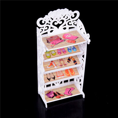 Dollhouse Shoe Cabinet For s Doll Mini Living Room Home Furniture—AY