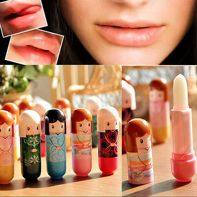 Natural Smooth Moisturizing Lip Balm 6 Flavor Anticracking Cute 1 Lips Creamvb