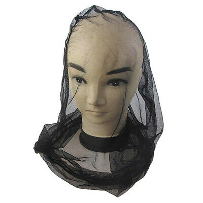 Mosquito Bug Insect Bee Mesh Head Net Protect Hat Fishing Camping Hunting FB - 2