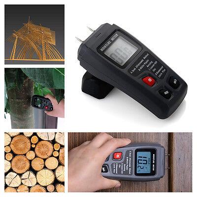 Digital Wood Firewood Moisture Meter Wood Log LCD Humidity Conductivity Detector