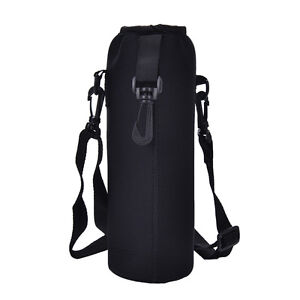 1000ML Water Bottle Carrier Insulated Cover Bag Holder Strap Pouch Outdoor NIUS
