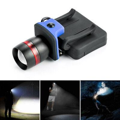 ThorFire LED Cap Light Headlamp 3 Modes Ball Hat Lamp Zoomable Flashlight -