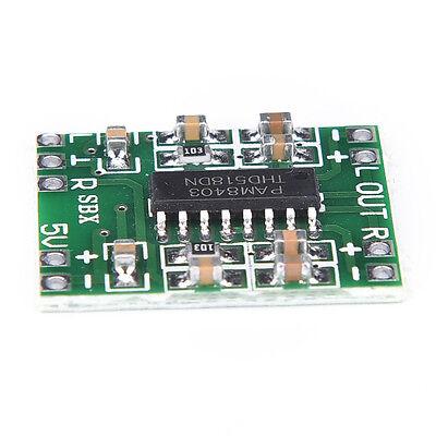 PAM8403 2X3W Mini Audio Class D amplifier board 2.5-5V input F&F