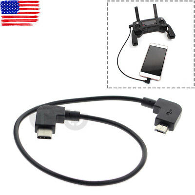 RC Remote Controller Type-C USB Data Transfer Cable for DJI MAVIC PRO AIR Spark