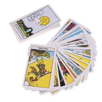 Riders Tarot Deck Board Game 78 PCS/Set Boxed Playing Card Tarot Rider-waite ^G