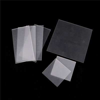 Clear Acrylic Perspex Sheet Cut To Size Plastic Panel Diy 2-5mm Ij