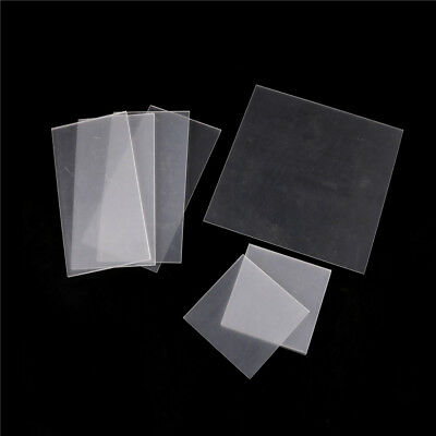 Clear Acrylic Perspex Sheet Cut To Size Plastic Plexiglass Panel Diy 2-5mm Ly