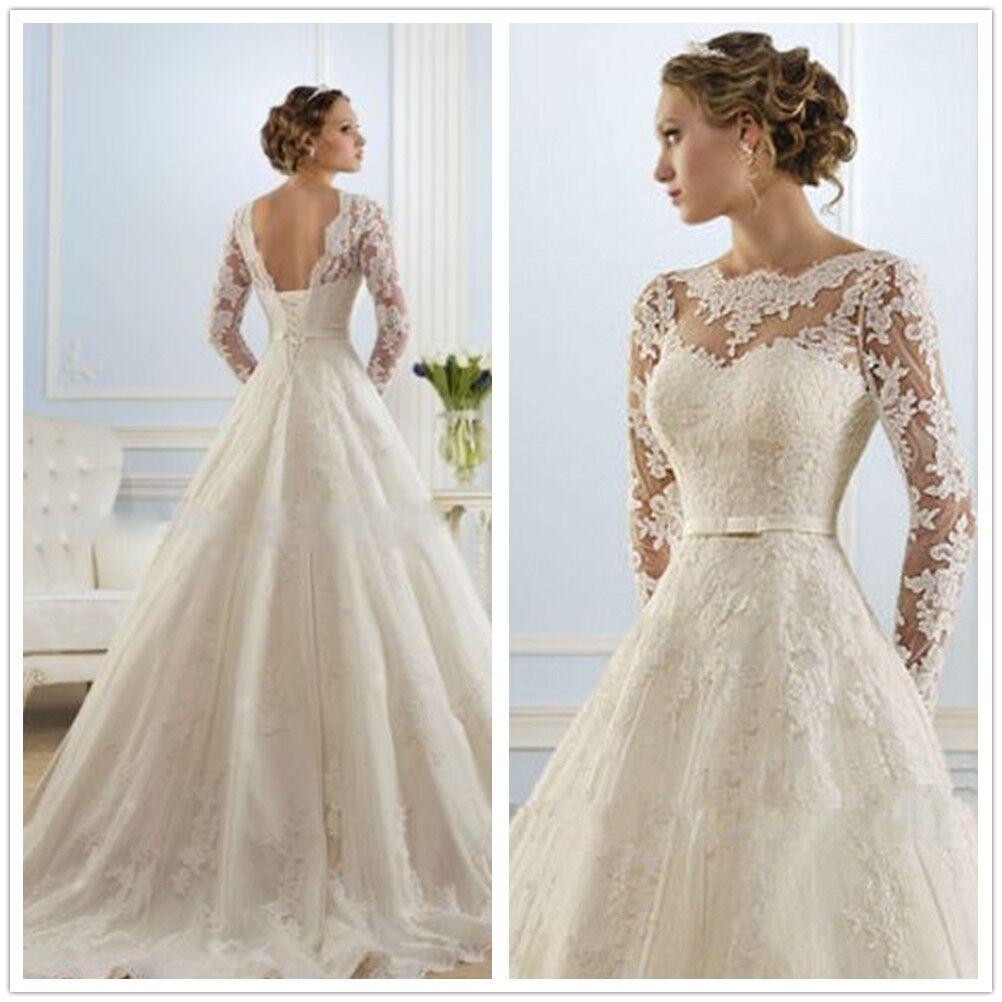 Vintage Lace V Back Fl Wedding