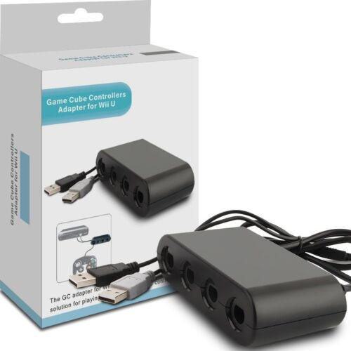 4 Port NGC Gamecube Controller Adapter For Nintendo Wii U&Switch USB PC