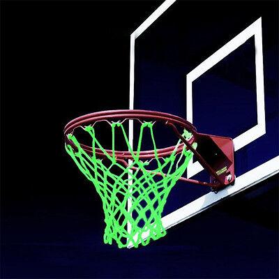 Amazing Glow In The Dark Light Sun Powered Basketball Hoop Net Shoot TrainiBLJC