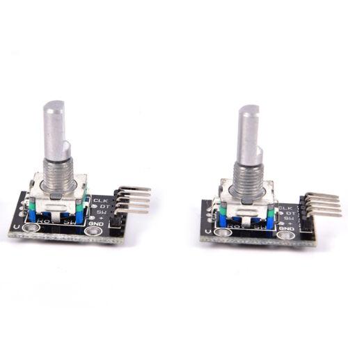 2pcs KY-040 Rotary Encoder Module for Arduino AVR PICSN ODGA