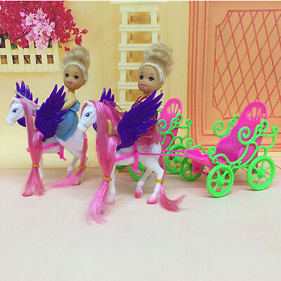 1Set Dolls Carriage Accesories For Barbies Dolls Baby Decorations Play House~Toy