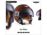 Brand New size M Moto Designer Motorbike/Vespa Helmet