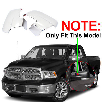 FOR 2013-2018 Dodge RAM 1500 2500 Chrome Mirror Covers W/Turn Signal