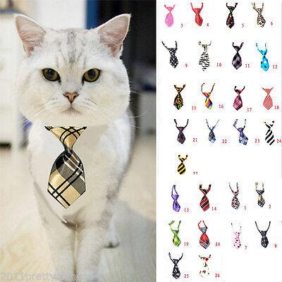 Einstellbare Hund Katze Haustier Krawatte Fliege Bogen Knoten Smoking Pflege  AB