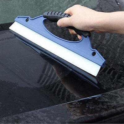Silicone Car Window Wash Cleaning Brush Cleaner Wiper Squeegee Drying Blade VN