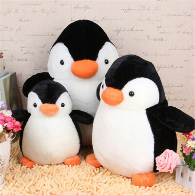Lovely Penguin Stuffed Animal Plush Soft Toys Gift Cute Doll Pillow Cushion FJ