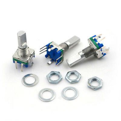 3pcsset 6mm D Shaft 18 Position 360 Degree Rotary Encoder W Push Button B9
