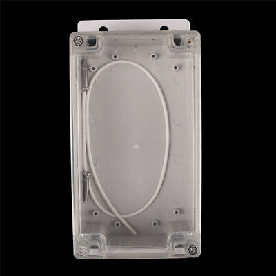 158x90x65mm Clear Waterproof Plastic Electronic Project Box Enclosure Cover Sg