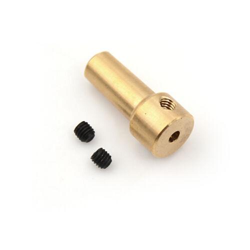Fits 2.3mm Motor Shaft Brass Drill Chuck for 2.5mm-3.17mm Micro Drill Bit