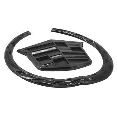 Black CADILLAC Front Grille Hood 6