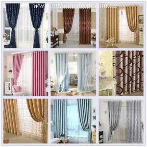 Premium Quality Blockout Curtains 4 Sizes 20 Designs Available Campbelltown Campbelltown Area Preview