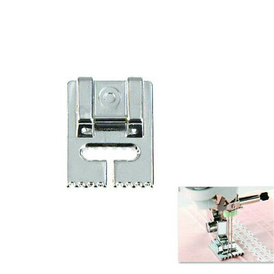 Household Multi-Function Sewing Machine Tank Presser Foot With 9 Grooves KW